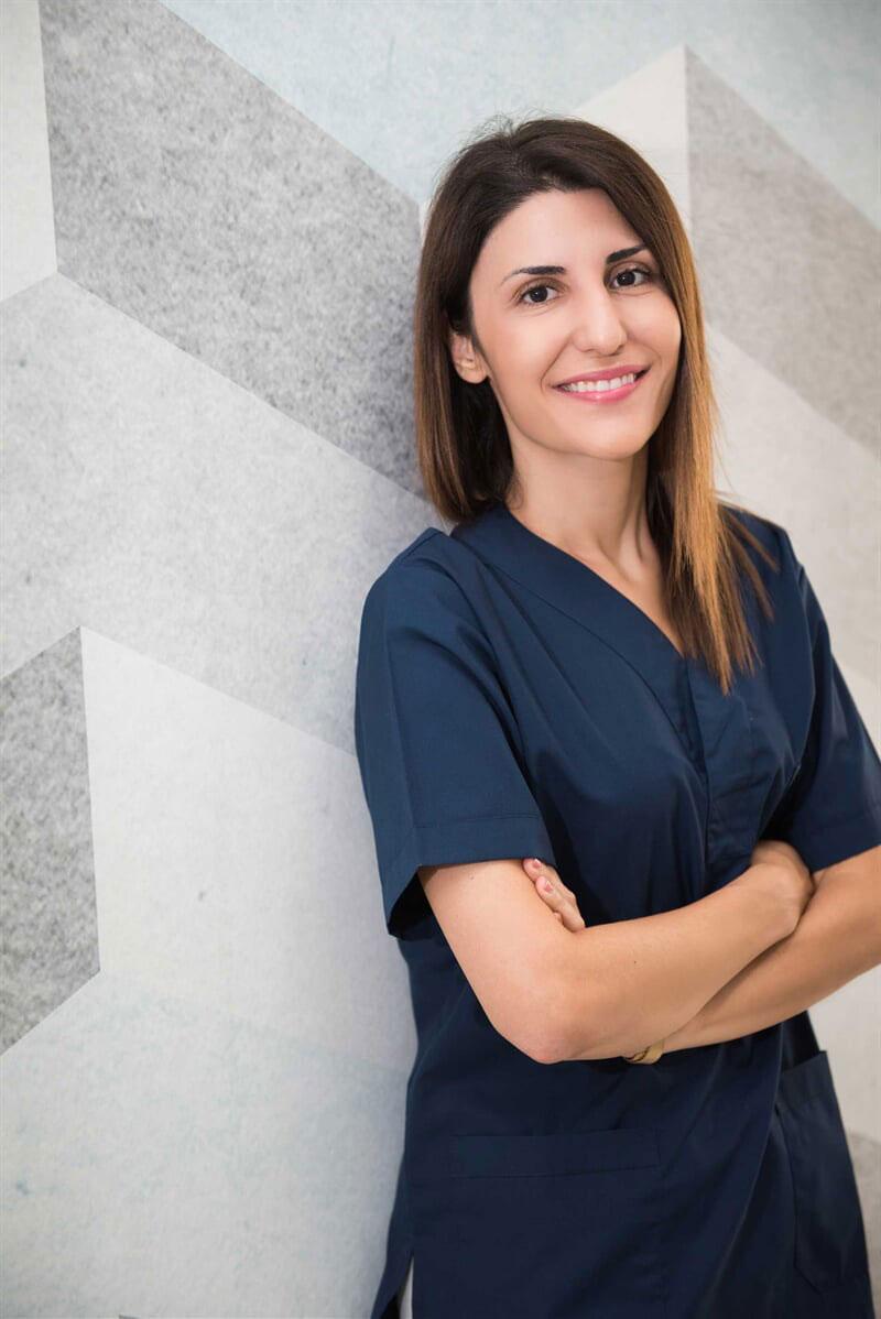 Ιωάννα Τσαχουρίδου Χειρουργός Οδοντίατρος – Περιοδοντολόγος – Εμφυτευματολόγος
